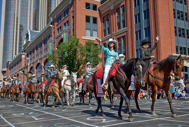 Annual Calgary Stampede Parade Breakfast